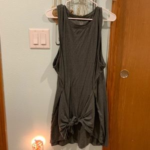 AE tie front olive dress XXL